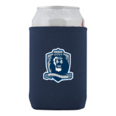 Collapsible Navy Can Holder-Monarchs Shield