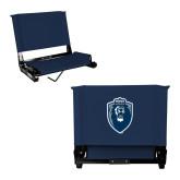 Stadium Chair Navy-Lion Shield