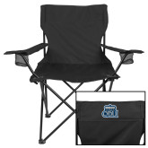 Deluxe Black Captains Chair-ODU w Crown