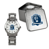 Mens Stainless Steel Fashion Watch-Monarchs Shield