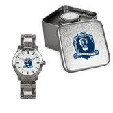 Ladies Stainless Steel Fashion Watch-Monarchs Shield