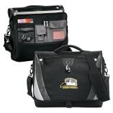 Slope Black/Grey Compu Messenger Bag-Athletic Logo