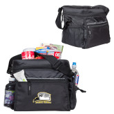 All Sport Black Cooler-Athletic Logo