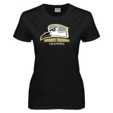 Ladies Black T Shirt-Grandma