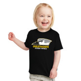 Toddler Black T Shirt-Primary Athletics Logo
