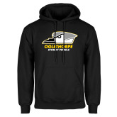 Black Fleece Hoodie-Primary Athletics Logo