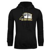 Black Fleece Hoodie-Athletic Logo