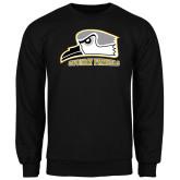 Black Fleece Crew-Athletic Logo