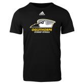 Adidas Black Logo T Shirt-Primary Athletics Logo