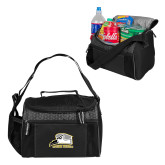 Edge Black Cooler-Athletic Logo