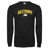 Black Long Sleeve T Shirt-Arched Oglethorpe