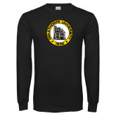 Black Long Sleeve T Shirt-University Seal