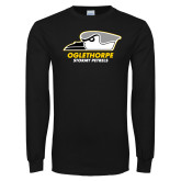 Black Long Sleeve T Shirt-Primary Athletics Logo