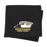 Black Sweatshirt Blanket-Primary Athletics Logo