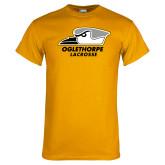 Gold T Shirt-Lacrosse