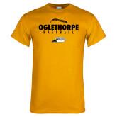 Gold T Shirt-Baseball Seams