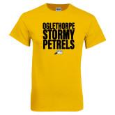 Gold T Shirt-Oglethorpe Stormy Petrels