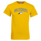Gold T Shirt-Arched Oglethorpe