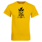 Gold T Shirt-Oglethorpe Crest