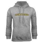Grey Fleece Hood-Stormy Petrels