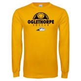 Gold Long Sleeve T Shirt-Soccer Ball