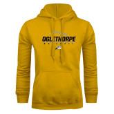 Gold Fleece Hoodie-Baseball Design
