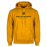 Gold Fleece Hoodie-Primary University Logo