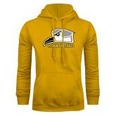 Gold Fleece Hoodie-Athletic Logo