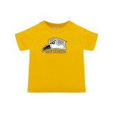 Toddler Gold T Shirt-Athletic Logo