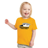 Toddler Gold T Shirt-Primary Athletics Logo