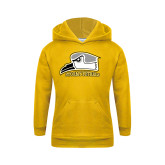 Youth Gold Fleece Hoodie-Athletic Logo