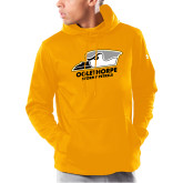 Under Armour Gold Armour Fleece Hoodie-Primary Athletics Logo