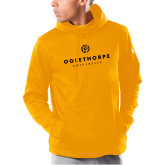 Under Armour Gold Armour Fleece Hoodie-Primary University Logo