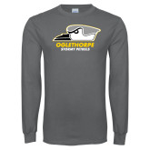 Charcoal Long Sleeve T Shirt-Primary Athletics Logo