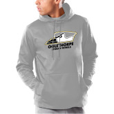 Under Armour Grey Armour Fleece Hoodie-Primary Athletics Logo