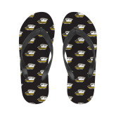 Ladies Full Color Flip Flops-Primary Athletics Logo