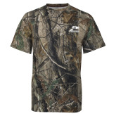 Realtree Camo T Shirt-Athletic Logo