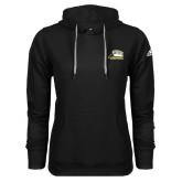 Adidas Climawarm Black Team Issue Hoodie-Athletic Logo