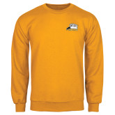 Gold Fleece Crew-Athletic Logo