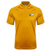 Gold Dri Mesh Pro Polo-Athletic Logo