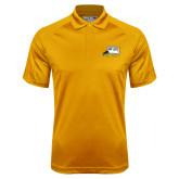 Gold Dri Mesh Pro Polo-Athletic Logo