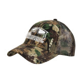 Camo Pro Style Mesh Back Structured Hat-Athletic Logo