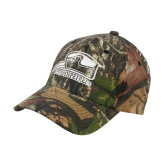 Mossy Oak Camo Structured Cap-Athletic Logo