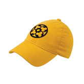 Gold OttoFlex Unstructured Low Profile Hat-Quatrefoil