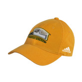 Adidas Gold Slouch Unstructured Low Profile Hat-Athletic Logo