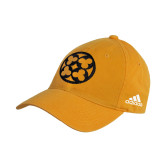 Adidas Gold Slouch Unstructured Low Profile Hat-Quatrefoil