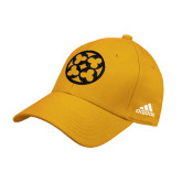 Adidas Gold Structured Adjustable Hat-Quatrefoil