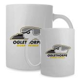 Full Color White Mug 15oz-Primary Athletics Logo