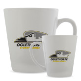 Full Color Latte Mug 12oz-Primary Athletics Logo