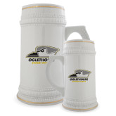 Full Color Decorative Ceramic Mug 22oz-Primary Athletics Logo